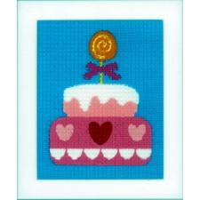 (OP=OP) Canvas kit Birthday cake