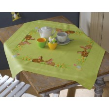 Tablecloth kit Easter bunnies