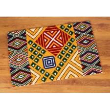 (OP=OP) Cross stitch rug kit Ethnic motif II