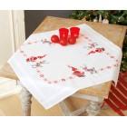 Tablecloth kit Christmas elves