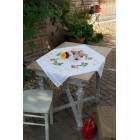 Tablecloth kit Chicken family