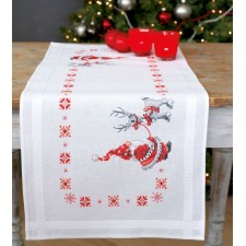 Table runner kit Christmas elves