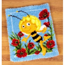 (OP=OP) Latch hook rug kit MDB Maya in the poppies