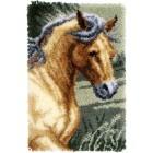 Latch hook rug kit Horse