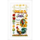 (OP=OP) Counted cross stitch kit About chickens