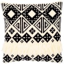 Cross stitch cushion kit Ethnic print