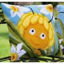(OP=OP) Cross stitch cushion kit MDB Maya in daffodils