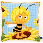 (OP=OP) Cross stitch cushion kit MDB Maya on the sunflower