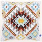 Cross stitch cushion kit Ethnical I