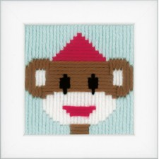 (OP=OP) Long stitch kit Circus monkey II
