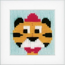 (OP=OP) Long stitch kit Circus tiger