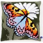 Cross stitch cushion kit Butterfly