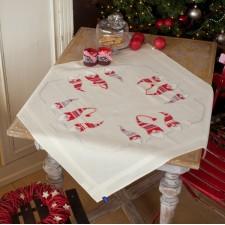 Tafelkleedje Kerstkaboutertjes