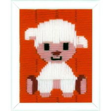 (OP=OP) Long stitch kit Lamb