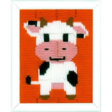 Long stitch kit Cow