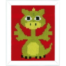 Long stitch kit Little dragon