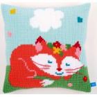 (OP=OP) Cross stitch cushion kit Sleeping fox