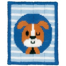 (OP=OP) Long stitch kit Winking dog