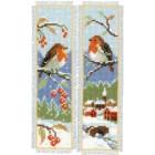 Bookmark kit Robins set of 2