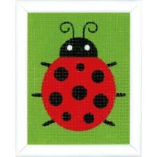 Canvas kit Ladybug