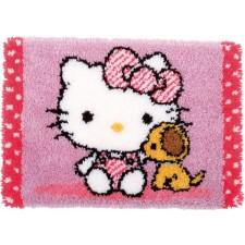 Knoopkit Hello Kitty met hondje