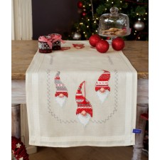 Table runner kit Christmas gnomes