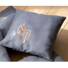 (OP=OP) Embroidery cushion kit Stylized trees
