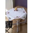 Aida tablecloth kit Butterflies