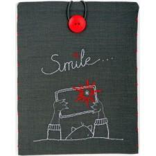 Tasje voor iPad Smile...