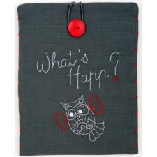 Tasje voor iPad What's Happ?