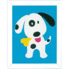 Canvas kit Cute dog