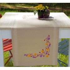 (OP=OP) Table runner kit Playful flowers