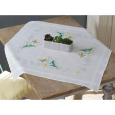 Tablecloth kit Flowers & butterflies