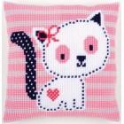 Cross stitch cushion kit Kitten