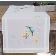 Table runner kit Flowers & butterflies