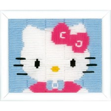 Long stitch kit Hello Kitty
