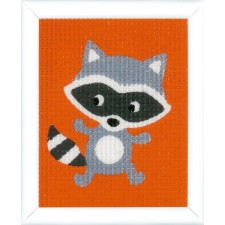 Canvas kit Little raccoon