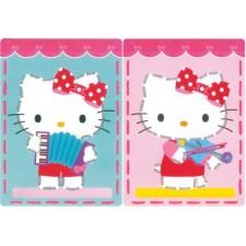 Borduurkaarten Kitty speelt muziek set v 2