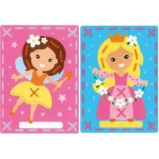 Borduurkaarten Prinses en de fee set van 2