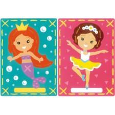 Borduurkaarten Ballerina en zeemeermin set v 2
