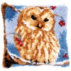 Latch hook cushion kit Owl