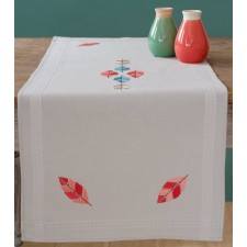 Table runner kit Feathers