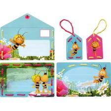 Borduurkaarten Uitnodiging Maya & Willy set 5