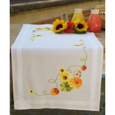 Table runner kit Sunflowers