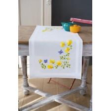 Table runner kit Spring flowers