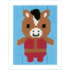 Long stitch kit Donkey