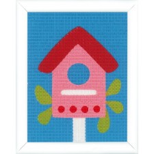 Canvas kit Birdhouse
