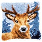 Latch hook cushion kit Deer