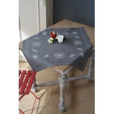 Tablecloth kit White flowers