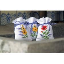Bag kit Flowers & lavender set of 3